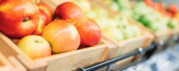 étalage pour fruits et légumes